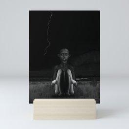 Deep Dark Mini Art Print