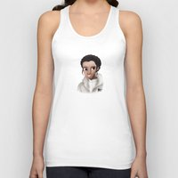 leia Tank Tops featuring Leia by BellaG