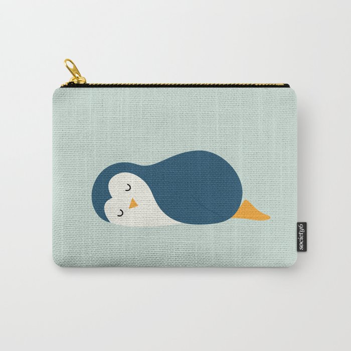 Little Blue Carry-All Pouch