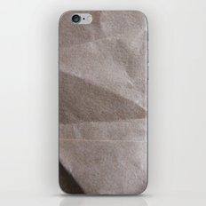 Brown bagging it. iPhone & iPod Skin
