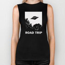 UFO Road Trip Biker Tank