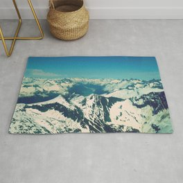 Mountain Peaks | Photography Rug
