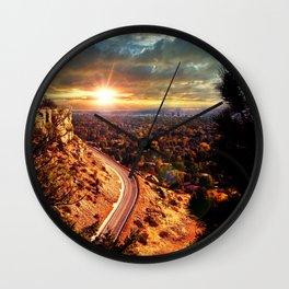 Billings Montana 2 Wall Clock
