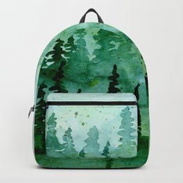 Deep in the pine woods Backpack
