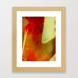 untitled #0029 (red one) Framed Art Print