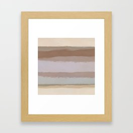Strips 4D Framed Art Print