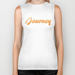 Inspiration Words...Journey Biker Tank