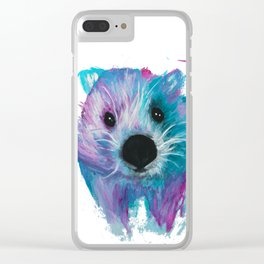Wombat Clear iPhone Case