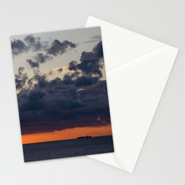 Mediterranean Sunset Stationery Cards