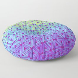 Toxic Revenger Geometric Floor Pillow