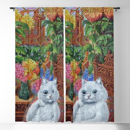 """""""Master of Cat College"""" by Louis Wain Blackout Curtain"""