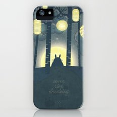 Totoro ' s Dream  Slim Case iPhone (5, 5s)