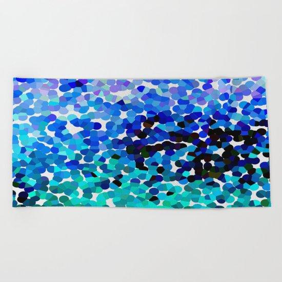 FANTASY-FOREVER IN BLUE DREAMS Beach Towel