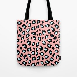 Leopard Print - Icy Peach Tote Bag