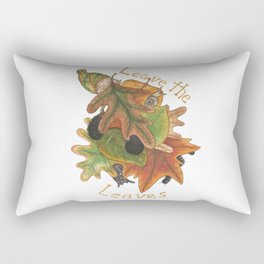 Leave the Leaves Rectangular Pillow
