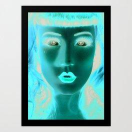 Maggy Art Print