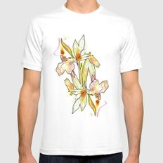 Queen Flower Mens Fitted Tee White MEDIUM