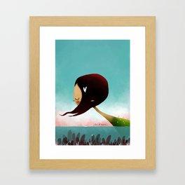 Sea Of Hearts Framed Art Print