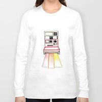 polaroid Long Sleeve T-shirts featuring Polaroid by Ilariabp.art
