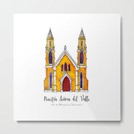 Basilica de Nuestra Senora del Valle Metal Print