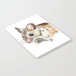 Little Brown Mouse Notebook