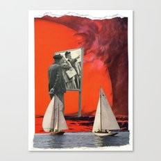 Beware Of The Obvious Canvas Print