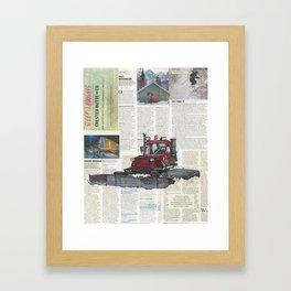 Snowcat No.1 Framed Art Print