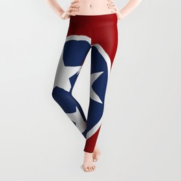 Tennessee: Tennessean Flag Leggings