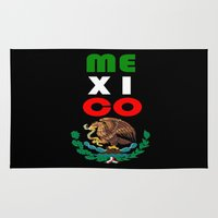 mexico Area & Throw Rugs featuring Mexico  by RDsix3