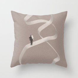 Forgive me I am sleepwalking Throw Pillow