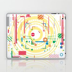 chaos vs order - the labyrinth within v1 Laptop & iPad Skin