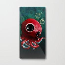 Mr Octopus Metal Print