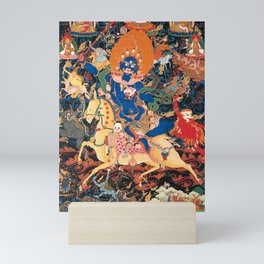 Kali, Goddess of Time, Creation, Destruction and Power Mini Art Print