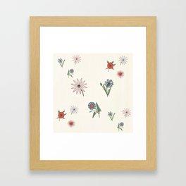 The gift of flowering blooms Framed Art Print