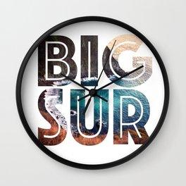 Big Sur For Sure Wall Clock
