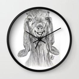 Goat! Wall Clock