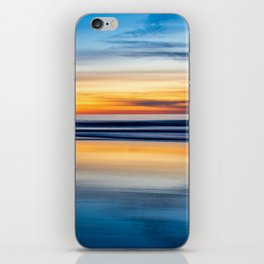 Cloudy Abstract Seascape Reflection iPhone Skin