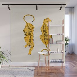 The Chase: Golden Tiger Edition Wall Mural