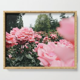 International Rose Test Garden Serving Tray
