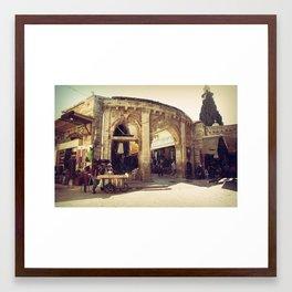 The Armenian Quarter Framed Art Print