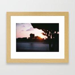 A lovers night in Tunisia Framed Art Print