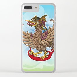 'Jatayu' or Eagle on the story of the Ramayana Clear iPhone Case