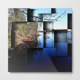 Crisp early November day Metal Print