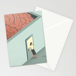 Brain Room Stationery Cards