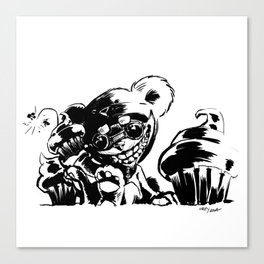 Teddy Ziggs Canvas Print