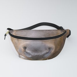 Watercolor Elk Bull 4 Fanny Pack