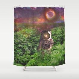 Planet Hemp Shower Curtain