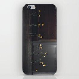 Flowers on the Floor iPhone Skin