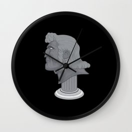 Brock Samson Bust Wall Clock