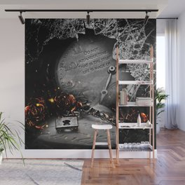 Do Not Squander Time Wall Mural